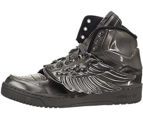(adidas Jeremy Scott Molded Wings Mens in Black, 9.5)