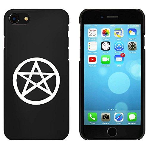 Noir 'Étoile Pentagramme' étui / housse pour iPhone 7 (MC00082809)