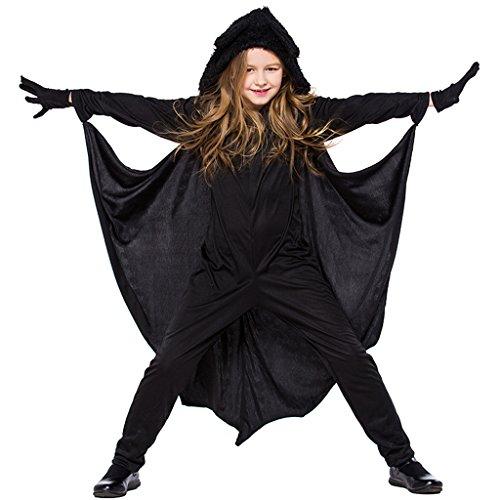 Kids Ninja Costume Set - Girls Halloween Costume Cosplay Martial Art Dress Up