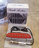 Bajo Sexto o Quinto Pastilla Aureliano Red/Roja (Only the Pickup) Metal Jack