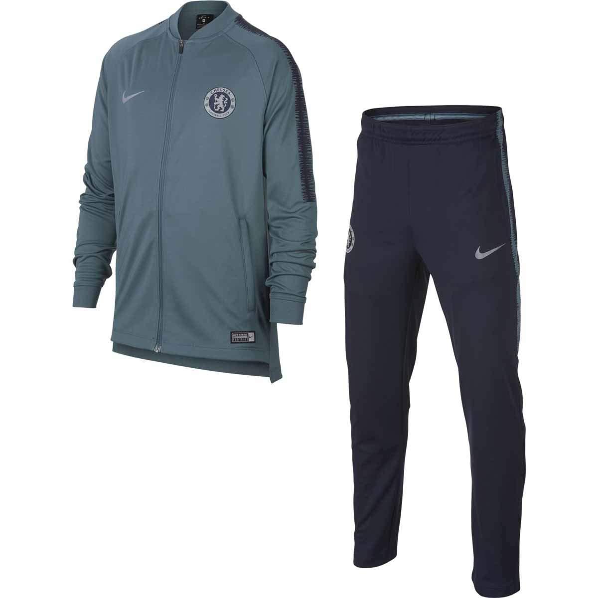 Nike CFC Y NK Dry SQD TRK Suit K - Chándal, Unisex Infantil ...