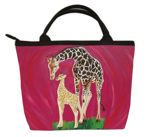 Giraffe Small Purse, Vegan Handbag - Animal Prints From My Original Paintings - Perfect for Young Girls (Giraffe - Full -