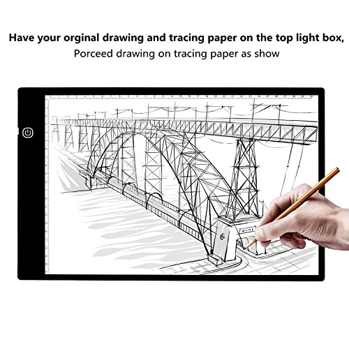 Elitehood Light Box for Tracing Drawing Eyesight-protected designed for Artcraft Animation Drawing by Elitehood