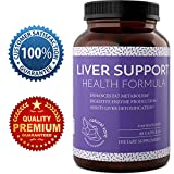 Natural Liver Support Dietary Supplements Promote Liver Health Weight Loss For Men and Women with Milk Thistle, Dandelion, Artichoke Complex and Detox Cleanse Vitamins Boost Metabolism