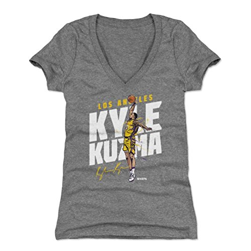 b2819606cde3 Amazon.com   500 LEVEL Kyle Kuzma Women s Shirt - Los Angeles Basketball  Women s Apparel - Kyle Kuzma Slam   Sports   Outdoors