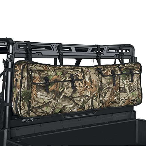 Classic Accessories 18-130-016001-00 Next Vista G1 Camo QuadGear UTV Double Gun Carrier (for Most UTV Roll Cages) (Double Rifle Camo)