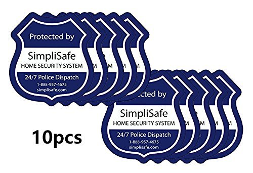 SimpliSafe Window Decals Pack of 10