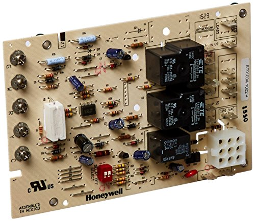 Timer Fan Furnace - Honeywell ST9103A1002 Replacement Electronic Fan Timer for Oil Furnace Applications