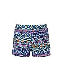 Sun Emporium Baby Boys Multi Color Ikat Sun Protective Euroleg Shorts 6-18M