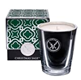 Votivo Green Christmas Sage Candle, 8.5 Oz