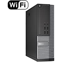 DELL OPTIPLEX 7020 Slim Business Desktop Computer Small Form Factor (SFF), Intel Quad-Core i5-4570 Up to 3.6GHz, 8GB RAM, 2TB HDD , DVD, WiFi, VGA, USB3.0, Windows 10 Pro(Certified Refurbished)