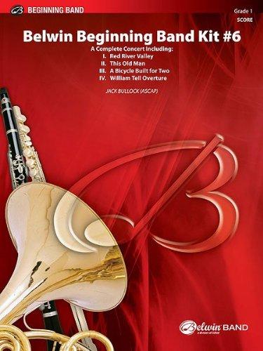 Belwin Beginning Band Kit #6 Conductor Score & Parts