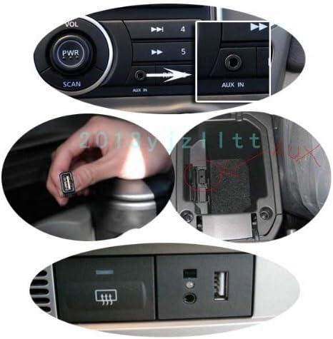 0.2m sincronizaci/ón jack de 3.5mm enchufe aux coche macho de audio al cable convertidor de cable hembra USB