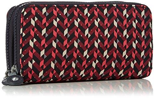 10x18 Portafogli Cm Chevron Multicolore pink 5x3 Donna Uzario Kipling 5 q5YHtt