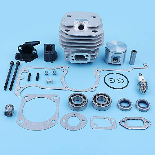 - Fricgore, Spare Parts - 48Mm Cylinder Piston Crank Bearing Gaskets Seal Kit for Husqvarna 61 268 272 Chainsaw Intake Manifold Adaptor Replacement Part