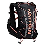 Cheap Nathan NS4527 Vaporairess Hydration Pack Running Vest with 2L Bladder, Black/Fusion Coral, Small/Medium