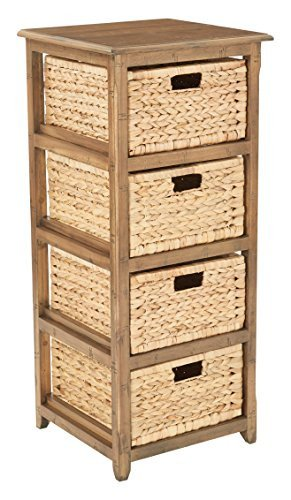ioneyes designs sh4514-dt-ioneyes sheridan 4-drawer storage, distressed (Umbrella Toffee)