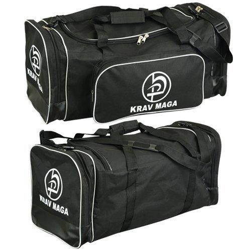 Krav Maga Schwarz Sport Duffel Kit Bag