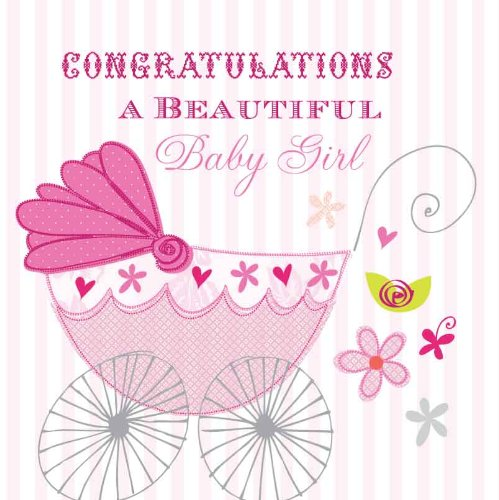 congratulations on baby girl