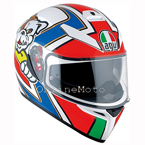 AGV K3 SV Marini Motorcycle Helmet Size Large (Marine Motorcycle Helmet)