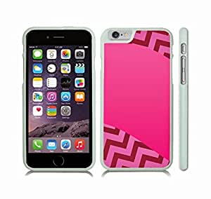Case Cover For SamSung Galaxy Note 3 with Chevron Pattern Gradient Fuchsia Pink Stripe Snap-on Cover, Hard Carrying Case (White)