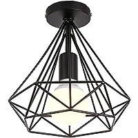 Topdécoré Retro Industrial Lámpara de techo de interior,Techo de Metal Lámpara de Estilo…