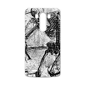 Creaive Skull Pattern Custom Protective Hard Phone Cae For LG G3