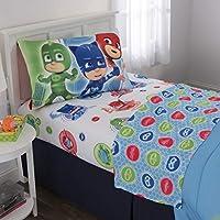 PJ Masks Kids Bedding Soft Microfiber Sheet Set, Twin...