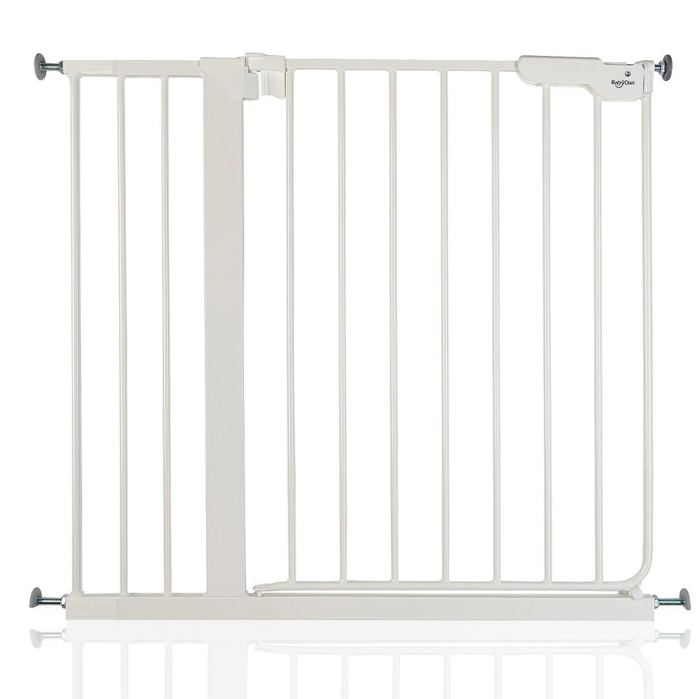 BabyDan Danamic True Pressure Baby Safety Stair Gate White All Widths (79.5cm-87cm)