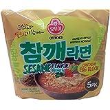 Sesame Flavor Ramen Multi Pack (115g X 5ea)