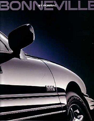 Pontiac Sales Bonneville Brochure (1997 Pontiac Bonneville Sales Brochure Literature Advertisement Specifications)