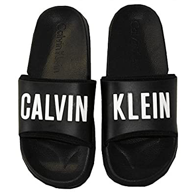 Calvin Klein Intense Power Pool Sliders, Black