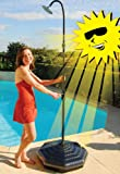 Doheny's Outdoor Solar Shower with Base