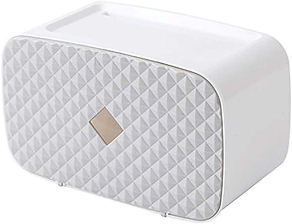 ZLMMY Materiales de Caja de pañuelos de Papel higiénico Libres Bandejas de Papel higiénico Cajas de Almacenamiento Fuerte Autoadhesivo Impermeable con (Color : B): Amazon.es: Hogar