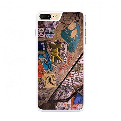 Coque + Verre Trempé pour iPhone 7 Plus SmartCase® STREET ART 4