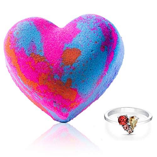 Fragrant Jewels Choose Joy Bath Bomb with Collectible Ring (Size 5-10)