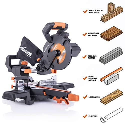 Evolution Power Tools R185SMS Multi Material product image