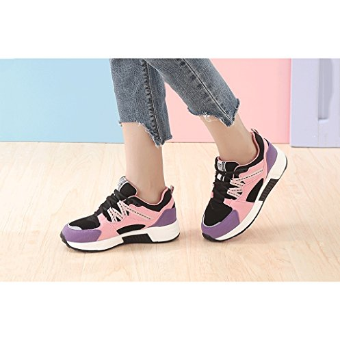 Sports Casual up Fashion Size Outdoor Comfortable Shoes Shoes 35 Lace Shoes Student Purple Color Shoes Flat Rise Simple Dream Low Women qF0AIxwcZ