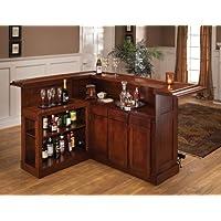 Amazoncom Corner  Bars  Wine Cabinets  Home Bar Furniture