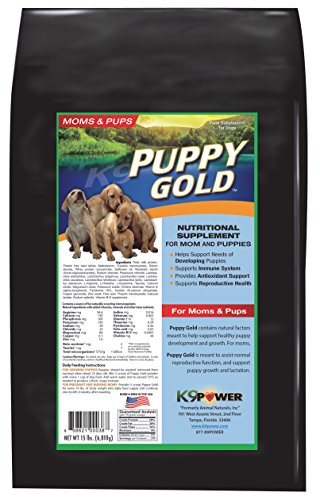 K9-Power 'Puppy Gold' Growing Puppy Nutrition Formula, 15-Pound