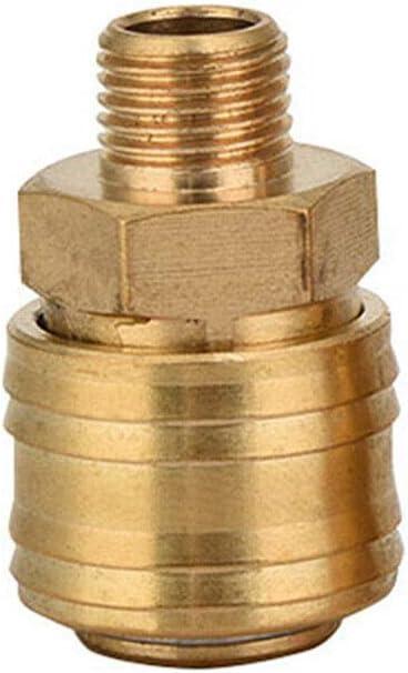 or SENRISE Raccord de tuyau /à air comprim/é 1//4 Raccord rapide Euro pour outils pneumatiques