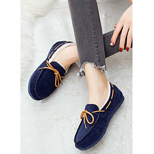 Winter Type Boot Christmas 8 More Choices for Colors Snow Pull Classic Women's BERTERI Blue On wEq8tfwA