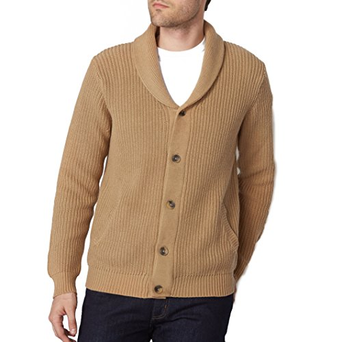 2e9d485e83ca R Edition Mens Shawl Collar Buttoned Cardigan 85%OFF ...