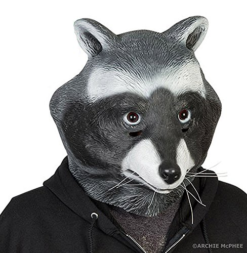 Bandit Costume For Dog (Archie McPhee Racoon Mask)