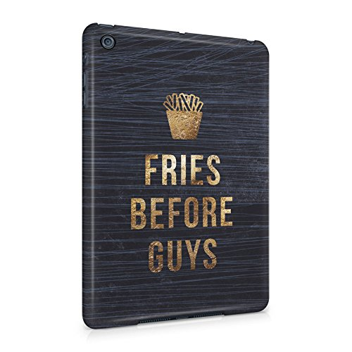 Fries Before Guys Black Grunge Marble Plastic Tablet Snap On Back Cover Shell For iPad (Grunge Guy)
