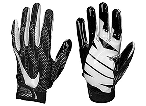 Nike Superbad 4 Adult Padded Football Receiver Gloves GF0494 011 - Medium ()