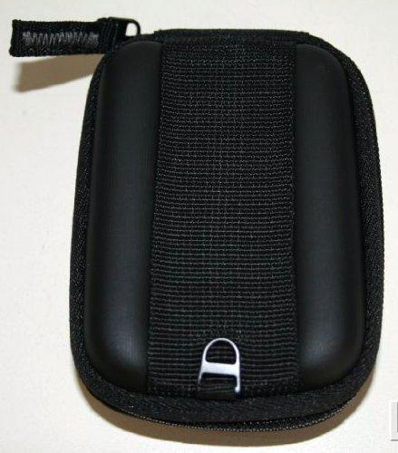 Sony LCS-FD11/B Soft Carrying Case for Slim Cyber-ShotDigital Cameras S, W, T, N, Series (Black) (Sony Dsc W610)