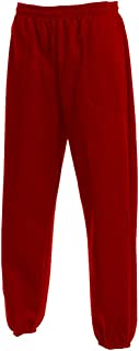 product image for LA Speedy Men's Classic 3 Pocket Fleece Sweatpants Elastic Bottom Made in USA