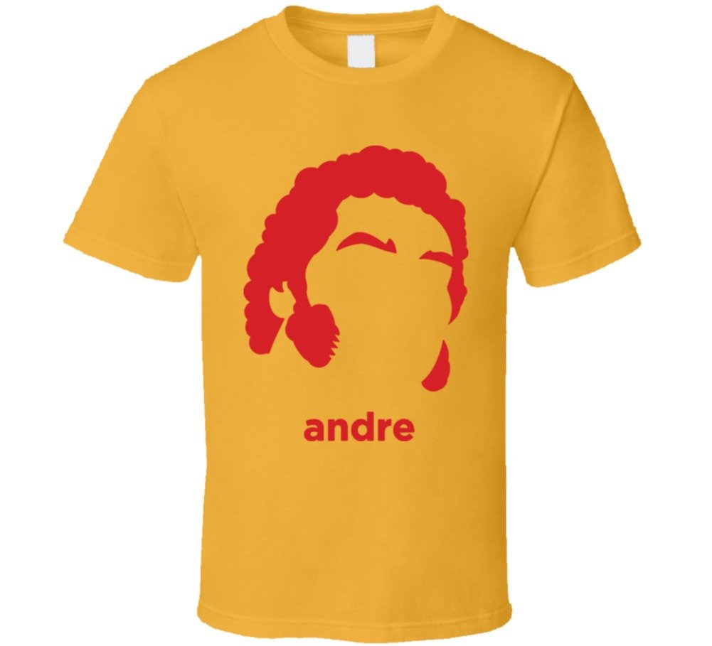 Andre The Giant Wrestling Retro T Shirt 2XL Gold