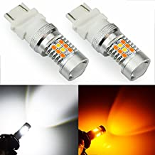 JDM ASTAR Extremely Bright PX Chipsets White/Yellow 3157 3155 3457 4157 Switchback LED Bulbs For Turn Signal Lights